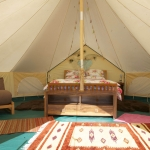 Typical tent (but now with full carpets)